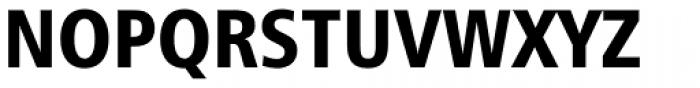 Humanist 777 Black Condensed Font UPPERCASE
