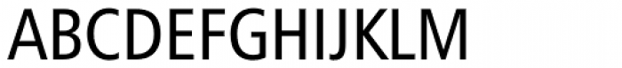 Humanist 777 Condensed Font UPPERCASE