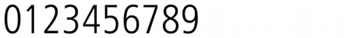 Humanist 777 Light Condensed Font OTHER CHARS