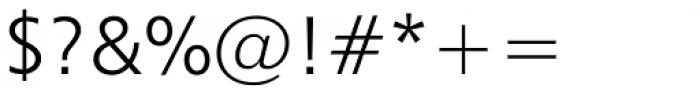 Humanist 777 Std Light Font OTHER CHARS