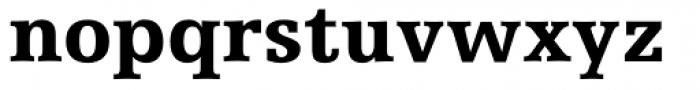 Humanist Slabserif 712 Black Font LOWERCASE