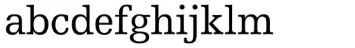 Humanist Slabserif 712 Font LOWERCASE