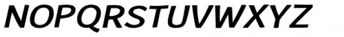 Humper Oblique Expand Bold Font UPPERCASE