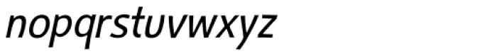 Humper Oblique Font LOWERCASE
