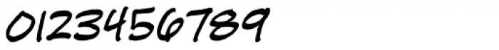 HundredWatt BB Italic Font OTHER CHARS