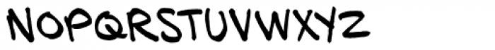 HundredWatt BB Font UPPERCASE