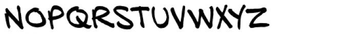HundredWatt BB Font LOWERCASE