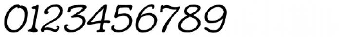 Hunniwell Light Italic Font OTHER CHARS