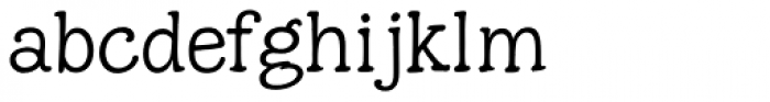 Hunniwell Light Font LOWERCASE