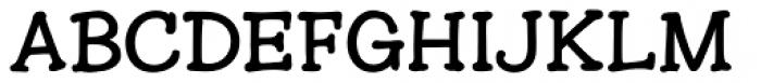Hunniwell Font UPPERCASE