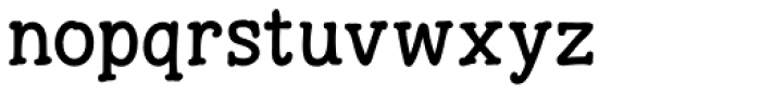 Hunniwell Font LOWERCASE