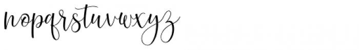 Hunsleitta Regular Font LOWERCASE