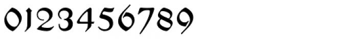 Hupp Fraktur Font OTHER CHARS