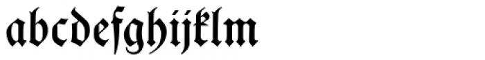 Hupp Fraktur Font LOWERCASE