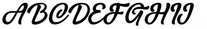 Hurley 1967 Script Bold Alt Font UPPERCASE