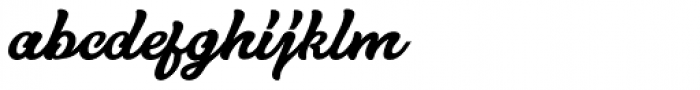Hurley 1967 Script Bold Font LOWERCASE