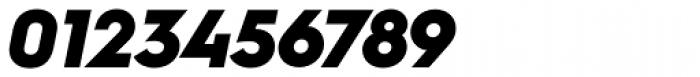 Hurme Geometric Sans 1 Black Obl Font OTHER CHARS
