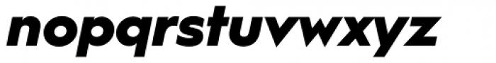 Hurme Geometric Sans 1 Black Obl Font LOWERCASE