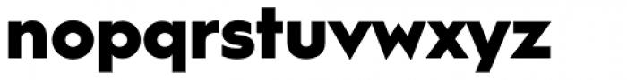 Hurme Geometric Sans 1 Black Font LOWERCASE