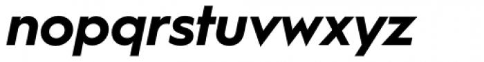 Hurme Geometric Sans 1 Bold Obl Font LOWERCASE