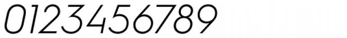 Hurme Geometric Sans 1 Light Obl Font OTHER CHARS