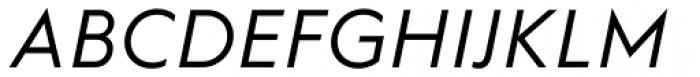 Hurme Geometric Sans 1 Regular Obl Font UPPERCASE