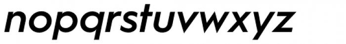Hurme Geometric Sans 1 SemiBold Obl Font LOWERCASE