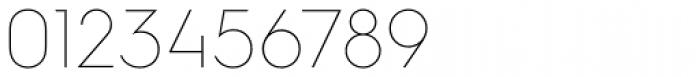 Hurme Geometric Sans 1 Thin Font OTHER CHARS