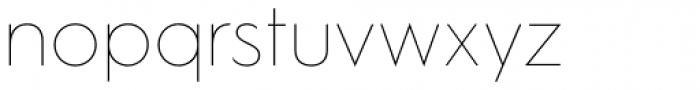 Hurme Geometric Sans 1 Thin Font LOWERCASE