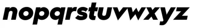 Hurme Geometric Sans 2 Black Obl Font LOWERCASE