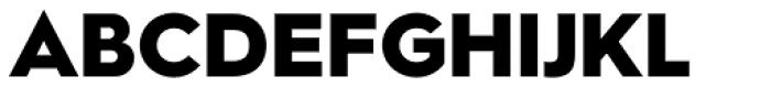 Hurme Geometric Sans 2 Black Font UPPERCASE