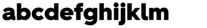 Hurme Geometric Sans 2 Black Font LOWERCASE