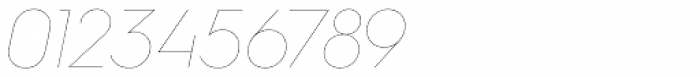 Hurme Geometric Sans 2 Hairline Obl Font OTHER CHARS