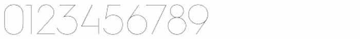 Hurme Geometric Sans 2 Hairline Font OTHER CHARS