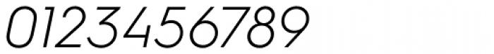 Hurme Geometric Sans 3 Light Obl Font OTHER CHARS