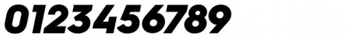 Hurme Geometric Sans 4 Black Obl Font OTHER CHARS