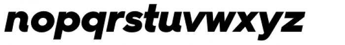Hurme Geometric Sans 4 Black Obl Font LOWERCASE