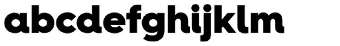 Hurme Geometric Sans 4 Black Font LOWERCASE