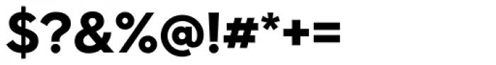 Hurme Geometric Sans 4 Bold Font OTHER CHARS