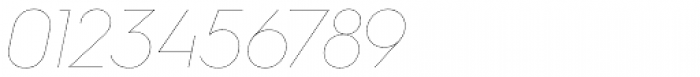 Hurme Geometric Sans 4 Hairline Obl Font OTHER CHARS