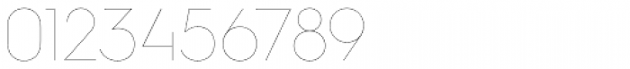 Hurme Geometric Sans 4 Hairline Font OTHER CHARS