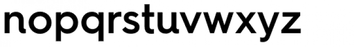 Hurme Geometric Sans 4 SemiBold Font LOWERCASE