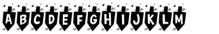 Hurrah Dreidle BTN Font LOWERCASE