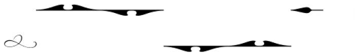 Hurricane Graphics Font LOWERCASE