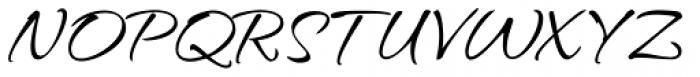 Hurricane Pro Font UPPERCASE
