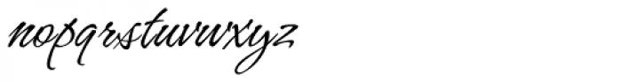 Hurricane Pro Font LOWERCASE