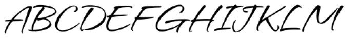 Hurricane Regular Font UPPERCASE