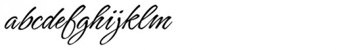 Hurricane Regular Font LOWERCASE