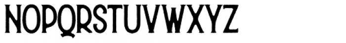 Hurson Regular Font LOWERCASE