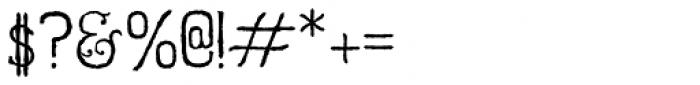 Hurstmonceux Font OTHER CHARS